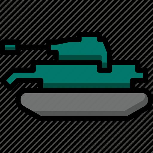 colour, tank, transport, ultra icon
