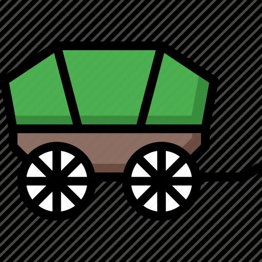 colour, transport, ultra, wagon icon