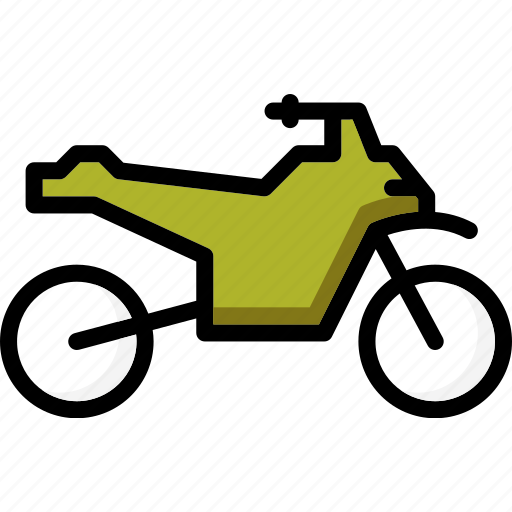 bike, colour, quad, transport, ultra icon