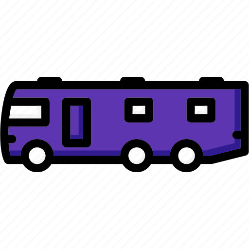 colour, motorhome, transport, ultra icon
