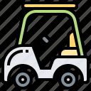 buggy, car, cart, electric, golf