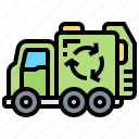 environment, garbage, recycling, truck, waste