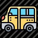 carrier, minibus, service, truck, van