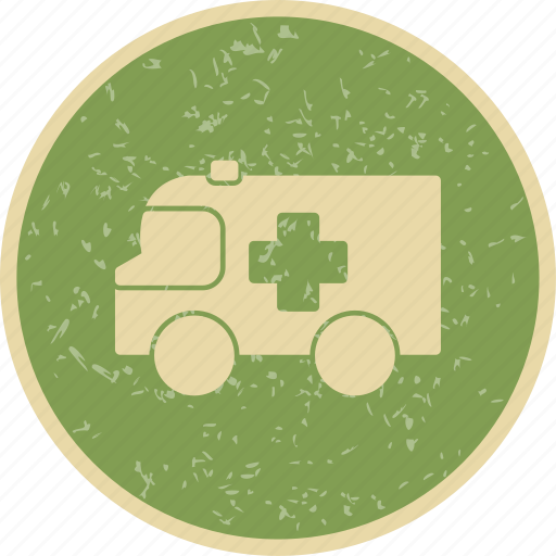 ambulance, emergency, first aid icon