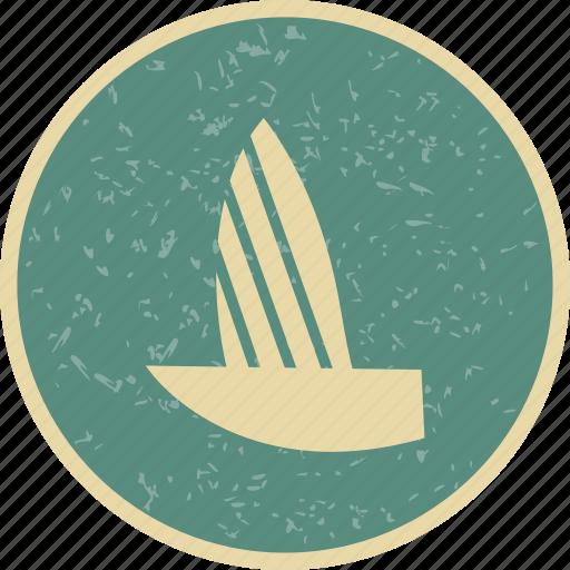 boat, sail boat, yacht icon