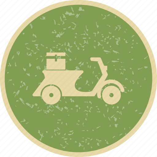 bike, delivery, scooter icon