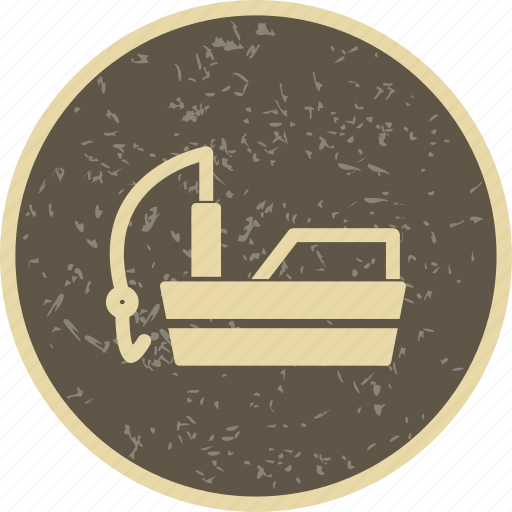 boat, fishing, ship icon