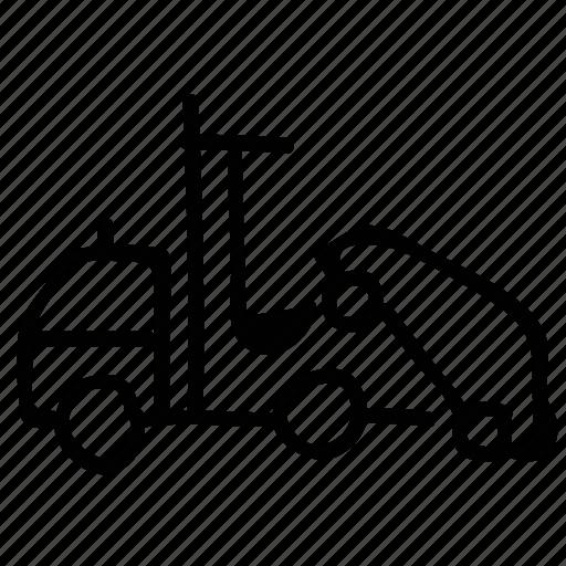 car lifting, car shipping, lifter, truck icon
