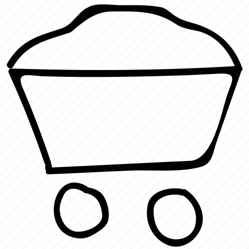 full, tool, transport, wheelbarrow icon