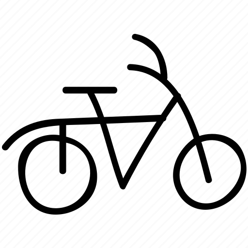 bicycle, cycle, pedal, transport icon