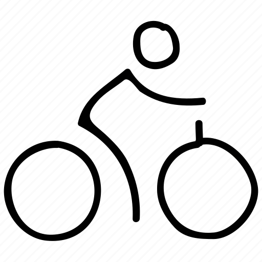 bicycle, cycling, transport, travel icon