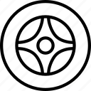 car, round, vehicle, wheel icon