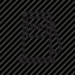 diesel, fuel, gas pump, gas station, petrol, transportation icon