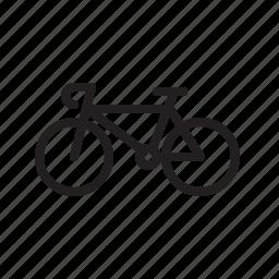 bicycle, speed bike, transportation icon