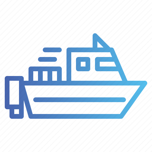 Boat, speedboat, transportation icon - Download on Iconfinder