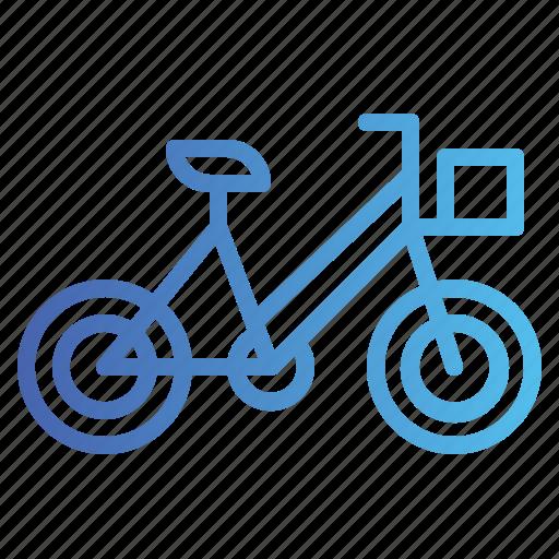 bicycle, bike, cycling, transportation icon