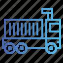 cargo, truck, trucks icon