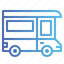 delivery, truck, van icon