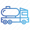 oil, tank, tanker, truck icon