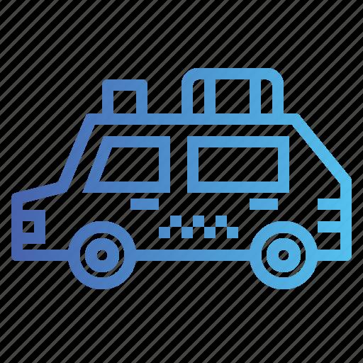 automobile, car, taxi, transportation icon