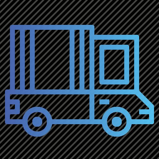 delivery, truck, trucks icon