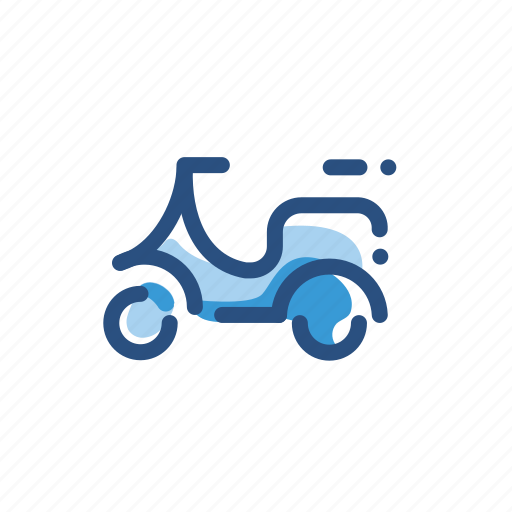 bike, scooter, transport, transportation, vehicle icon