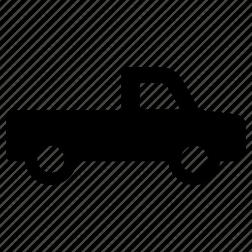 pickup, transportation, truck, vehicle icon