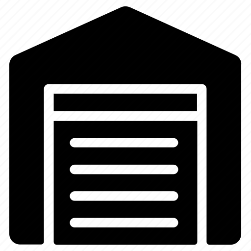 logistics, storage, warehouse icon