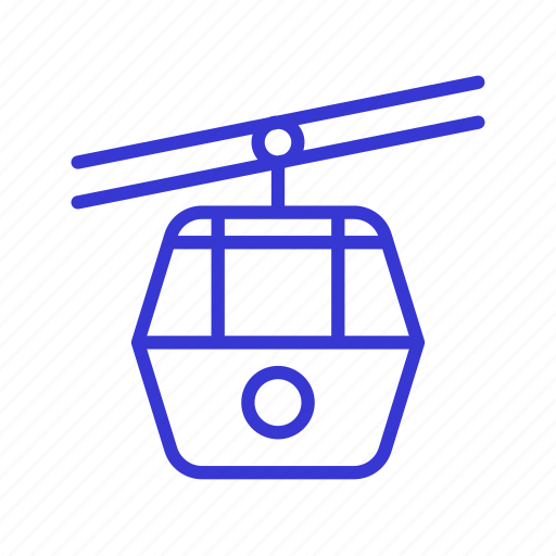 cabin, cable car, holiday, tourism, travel, trip, vacation icon