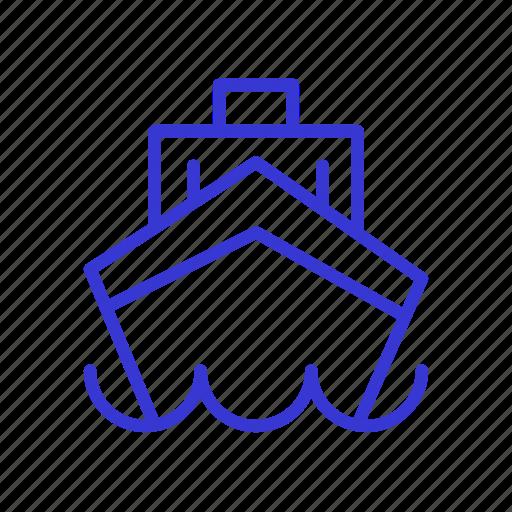 logistic, ship, shipping, transport, transportation, truck, vehicle icon
