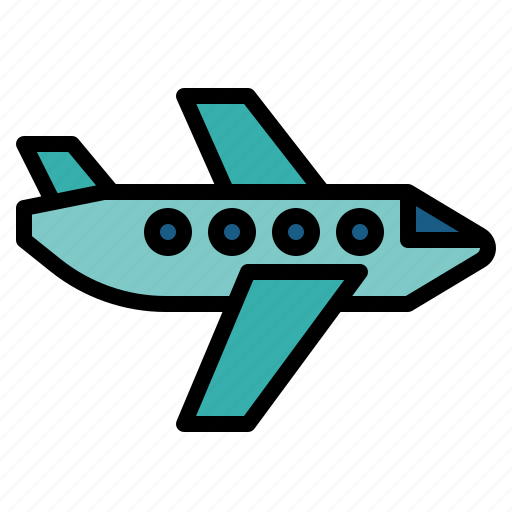 air, fly, plane, transporation icon