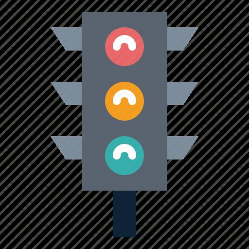 light, traffic, transportation icon