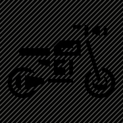 biker, motorbike, motorcycle, transport icon