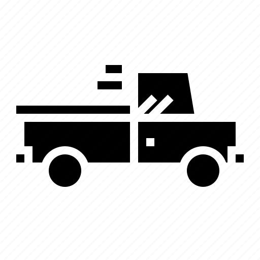 car, pickup, transport icon