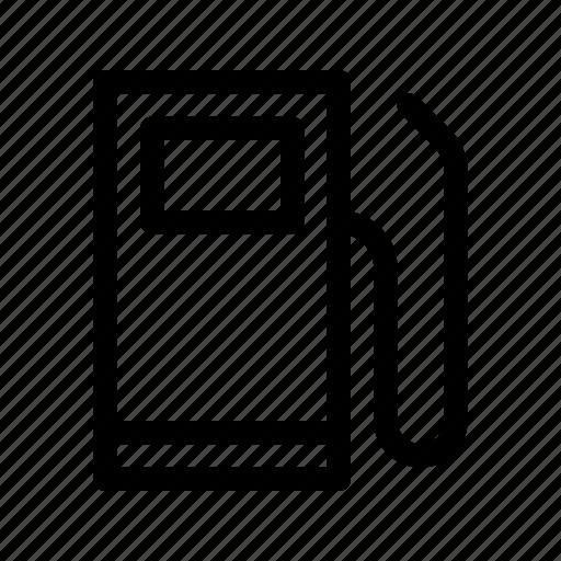 Gas, fuel, gasoline, petrol, station, oil, petroleum icon - Download on Iconfinder