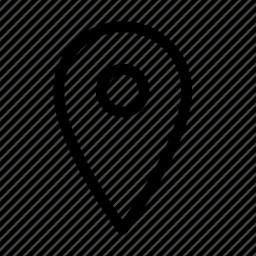 direction, gps, location, map, nav, navigation, pin icon