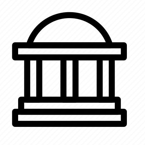 bank, building, capital, court, legal, monument, state icon