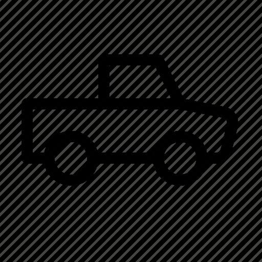automobile, drive, haul, pickup, trailer, truck, vehicle icon