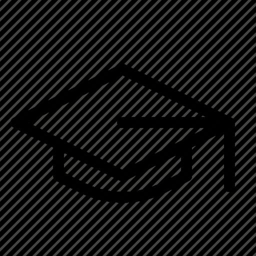 cap, college, education, graduation, learn, school, teach icon