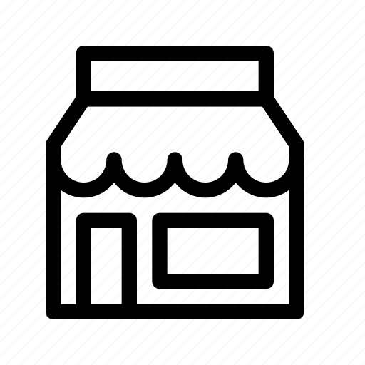 building, commerce, purchase, shop, shopping, store, storefront icon