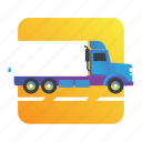 cargo, commercial, transportation, truck icon