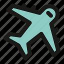 plane, airplane, flight, fly