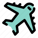 plane, airplane, fly, travel