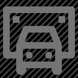 ambulance, transportation, truck icon