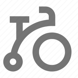 bicycle, ride, road, travel, tricycle, vehicle icon