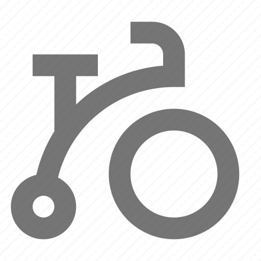 bicycle, cycle, tricycle icon