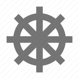 boat, sea, ship, travel, vehicle, vessel, water, wheel icon