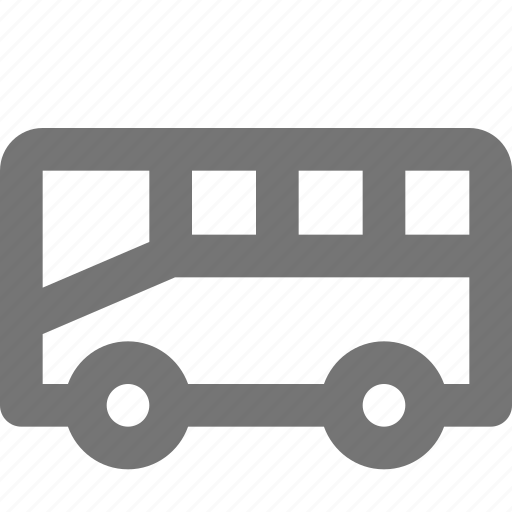 bus, transportation, van icon