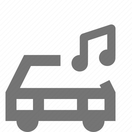 audio, car, music, transportation icon