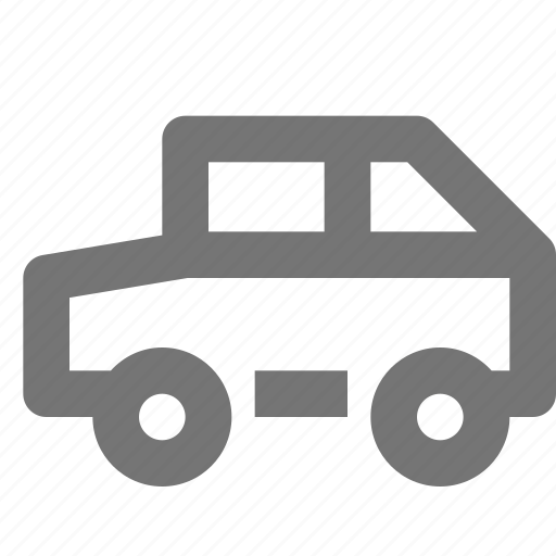 car, jeep, transportation icon